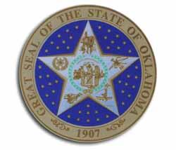 Buy Oklahoma 3 5 State Seal Flagline