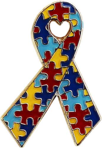 Buy Autism Awareness Lapel Pin (Ribbon) | Flagline