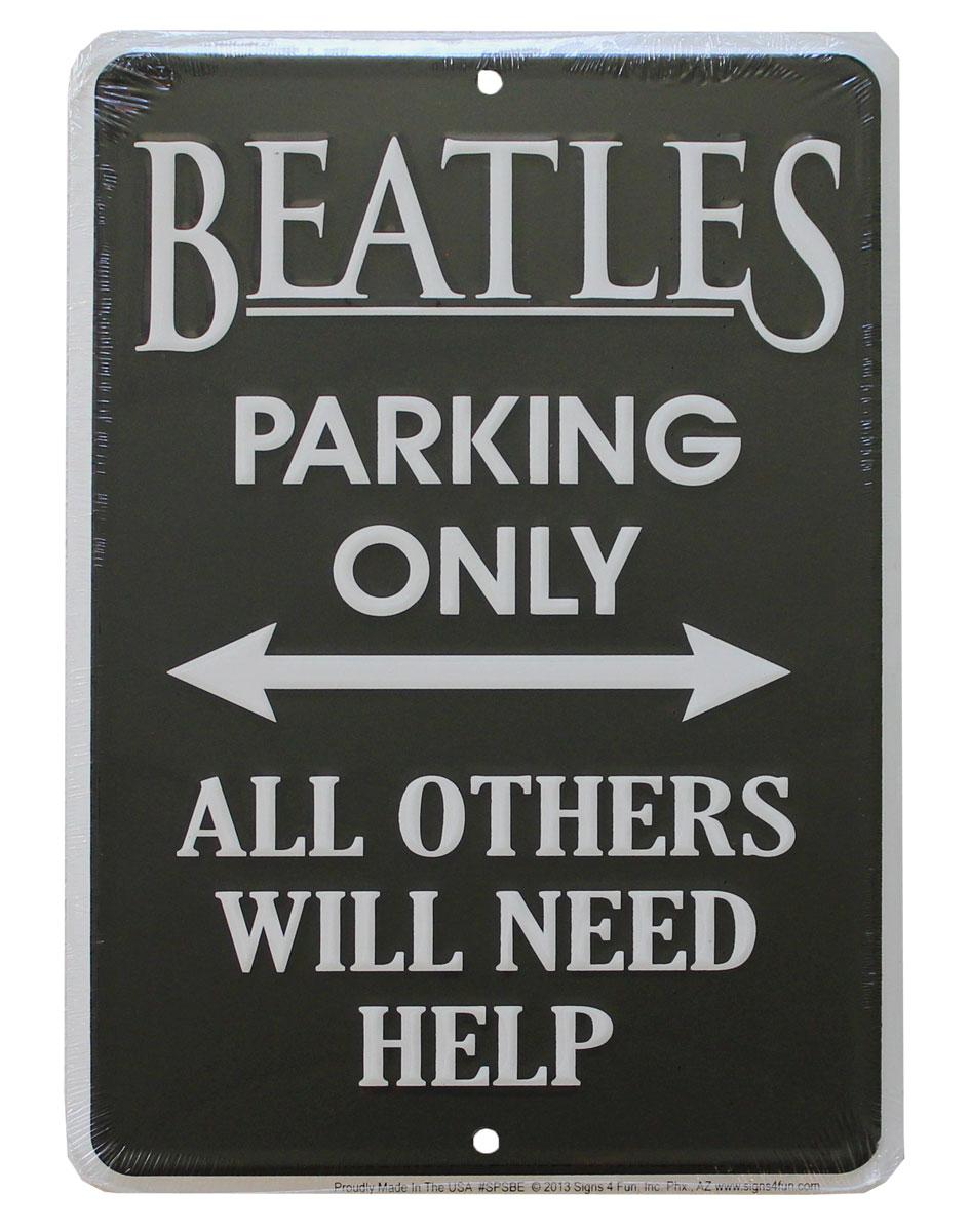 Buy Beatles Parking Sign Flagline