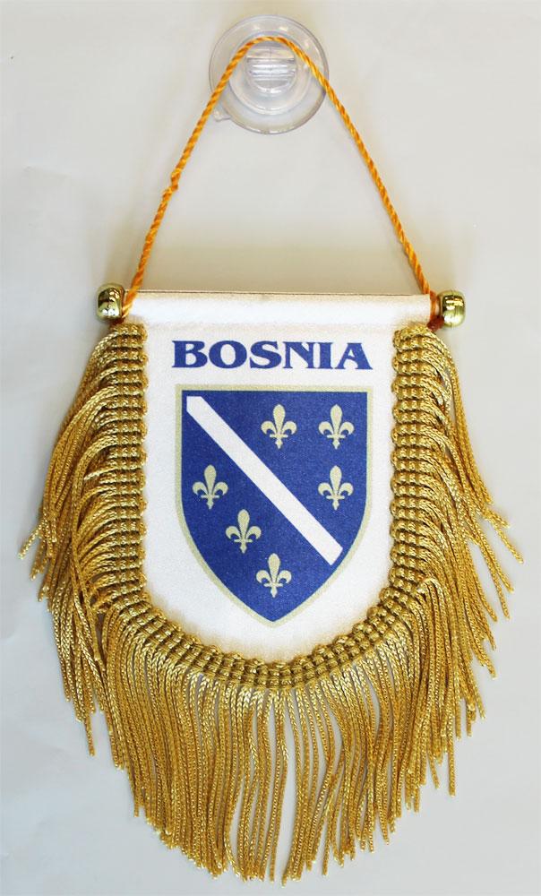 Buy Bosnia (Old) Window Hanging Flag (Shield) | Flagline