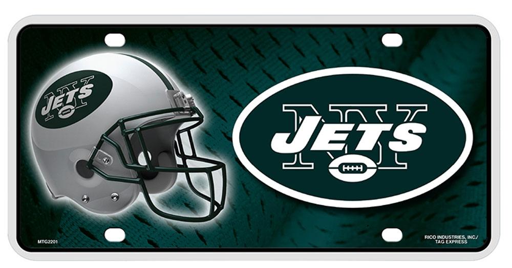 Buy New York Jets NFL License Plate | Flagline