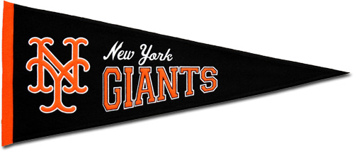 Buy San Francisco Giants Wool Pennant Throwback Design