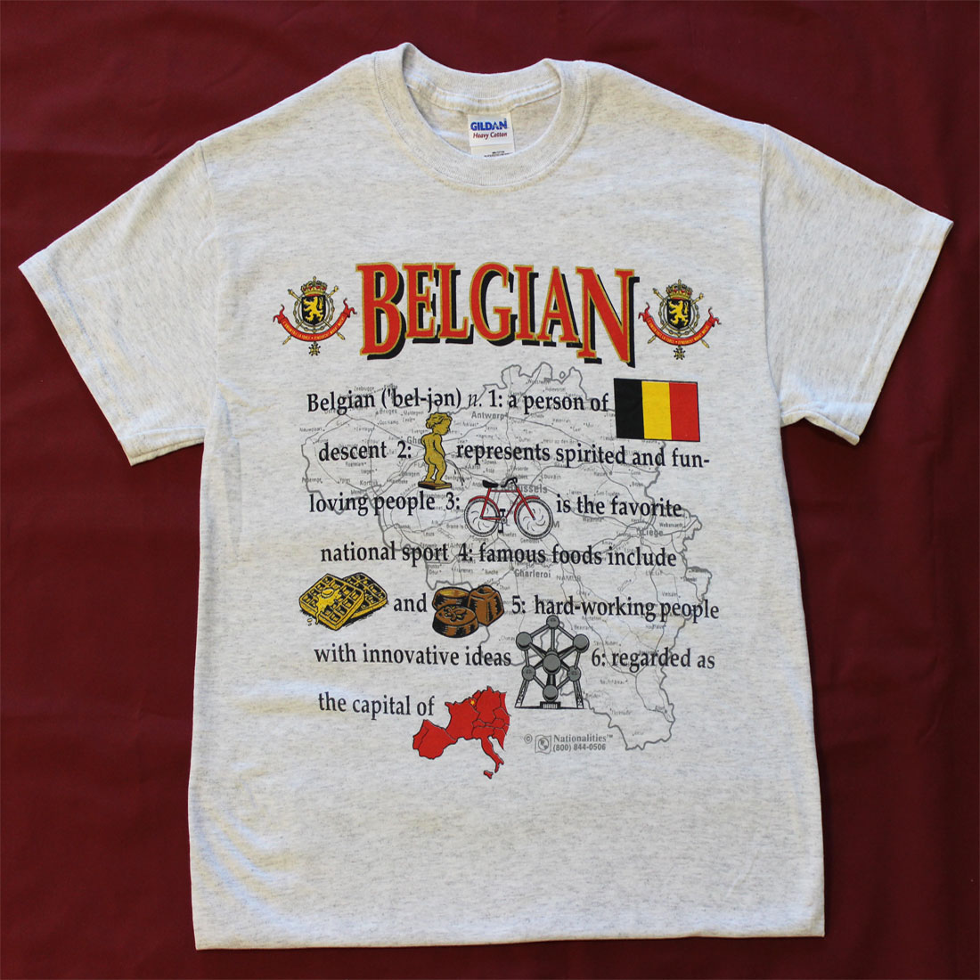Buy Definition: Buy Belgium Definition T-Shirt
