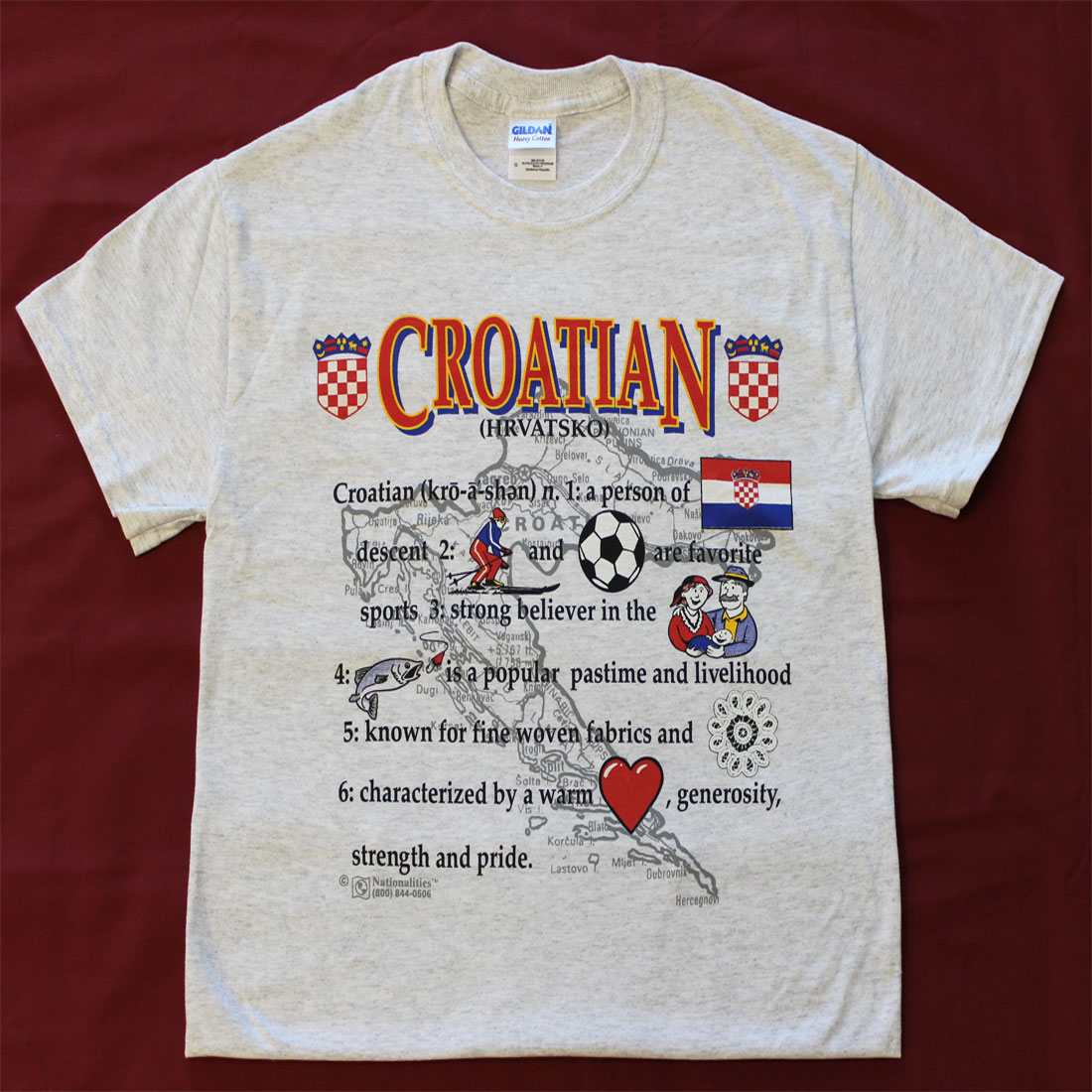 Buy Definition: Buy Croatia Definition T-Shirt