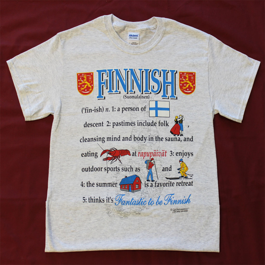 Buy Definition: Buy Finland Definition T-Shirt