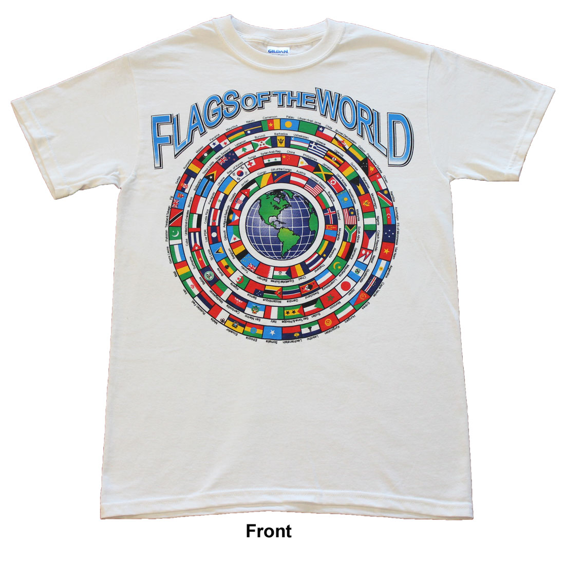 Buy Flags Of The World T Shirt Flagline
