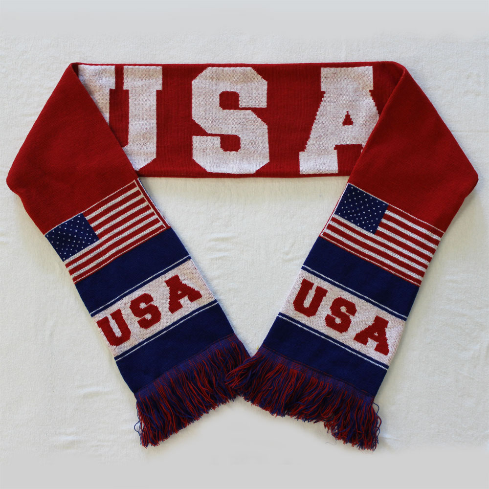 Buy Usa Knit Scarf Flagline