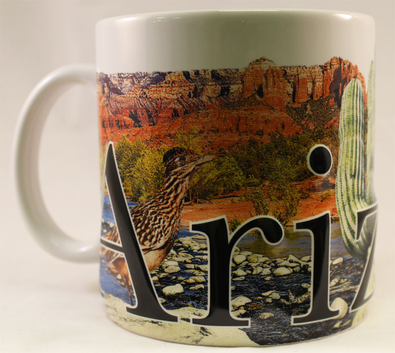 Buy Arizona One 18 Oz Coffee Mug Flagline