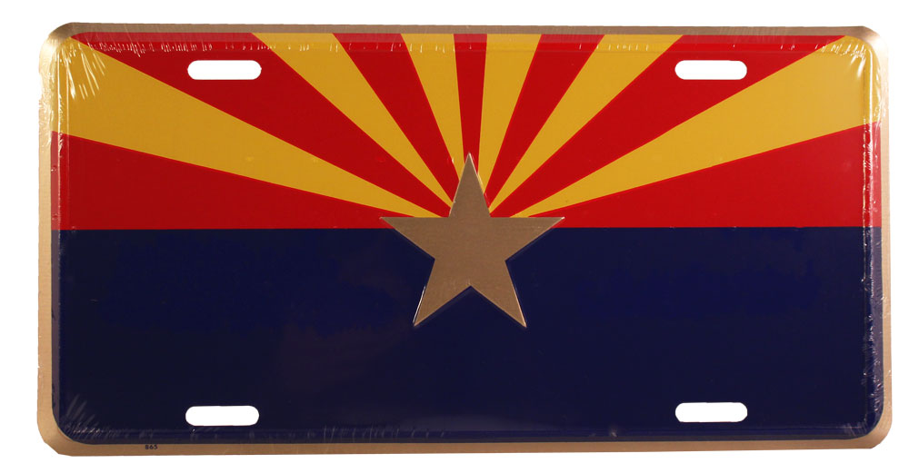 buy arizona license plate  starburst