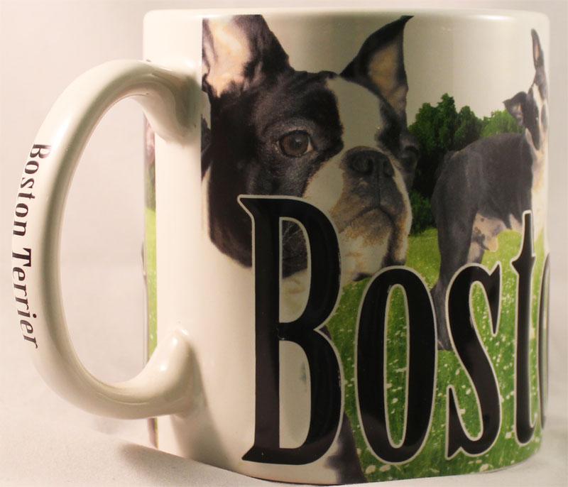 Buy Boston Terrier 18 Oz Coffee Mug Flagline