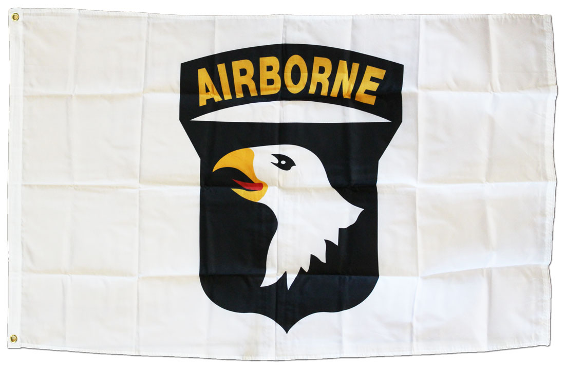 Best Buy Automotive >> Buy 101st Airborne Division - 3'X5' Polyester Flag   Flagline
