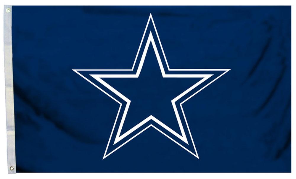 Buy Dallas Cowboys - 3' x 5' NFL Polyester Flag (Logo ...