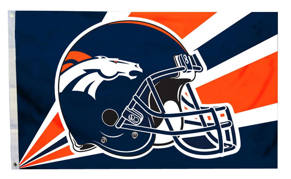 Buy Denver Broncos 3 X 5 Nfl Polyester Flag Flagline