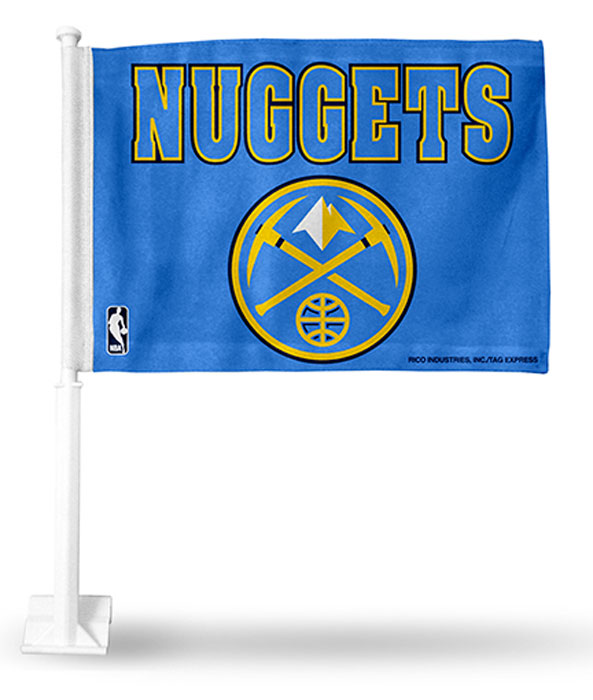 Buy Denver Nuggets NBA Car Flag