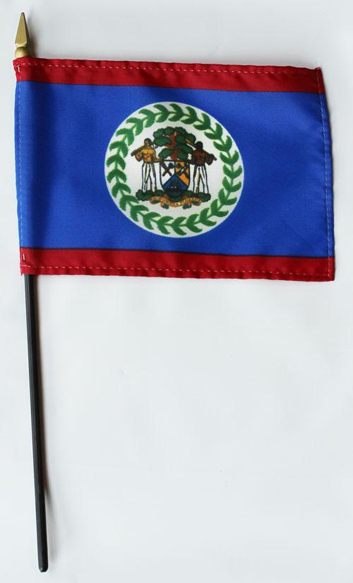 Buy Belize 4 Quot X6 Quot Stick Flag Flagline