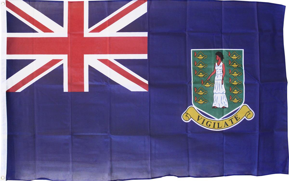 Buy British Virgin Islands 3 X5 Polyester Flag Blue Flagline