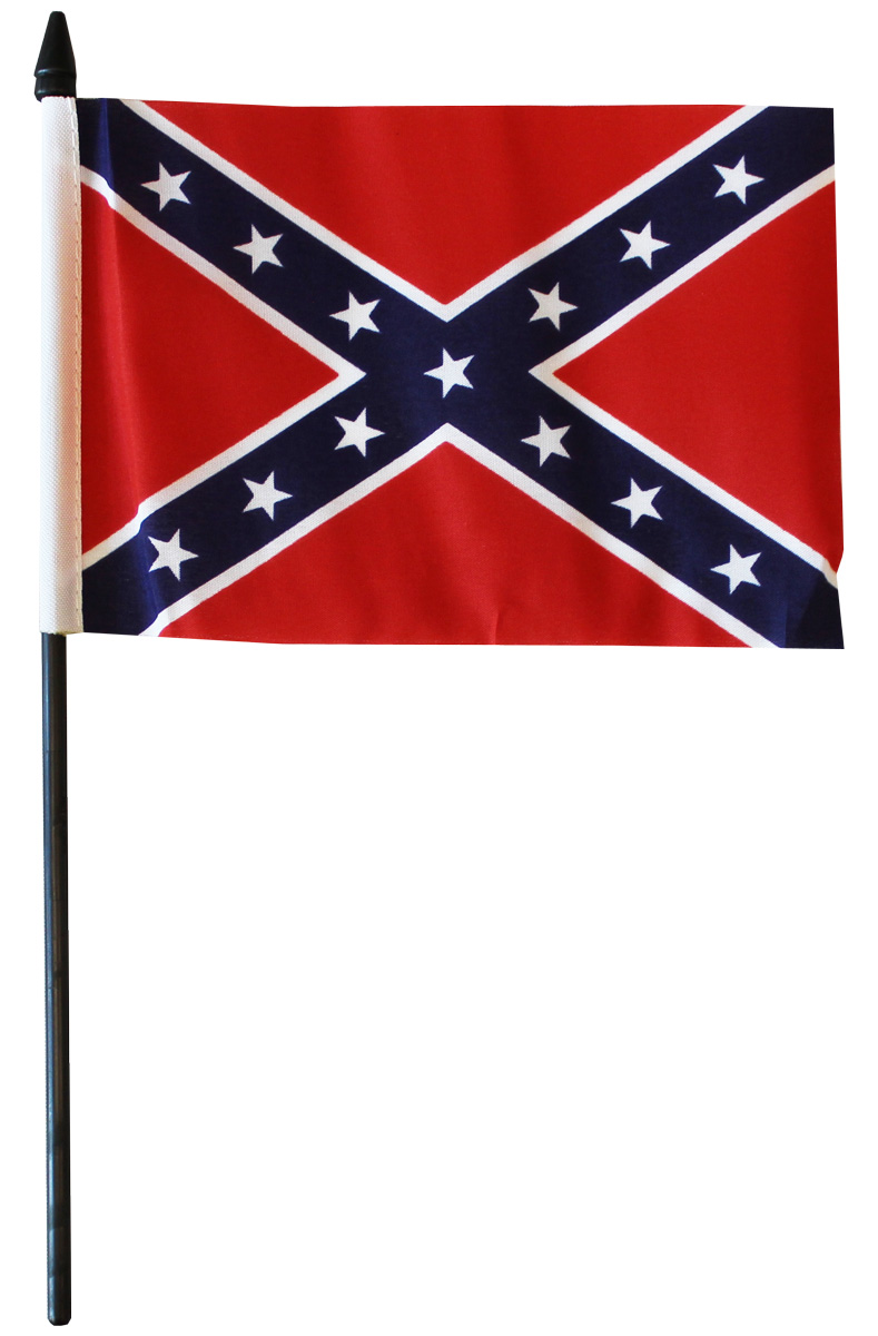 Buy Confederate 4 Quot X6 Quot Stick Flag Sleeved Flagline
