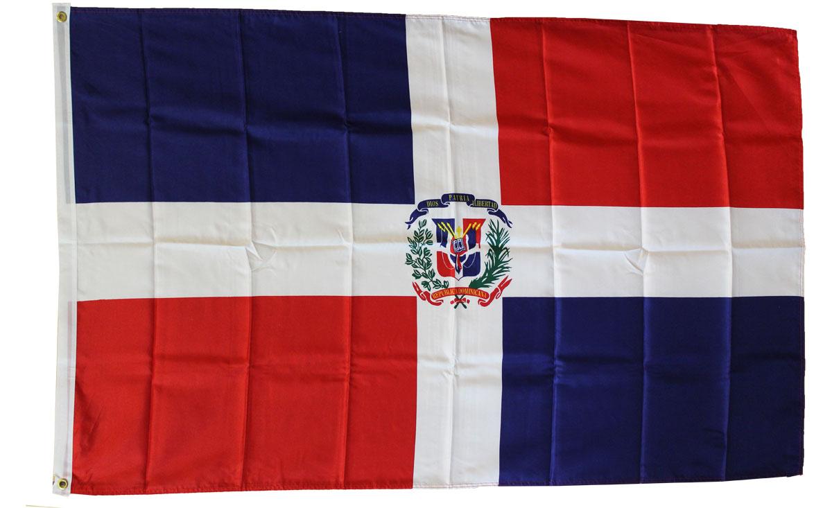 Dominican Republic   3u0027X5u0027 Polyester Flag (State)