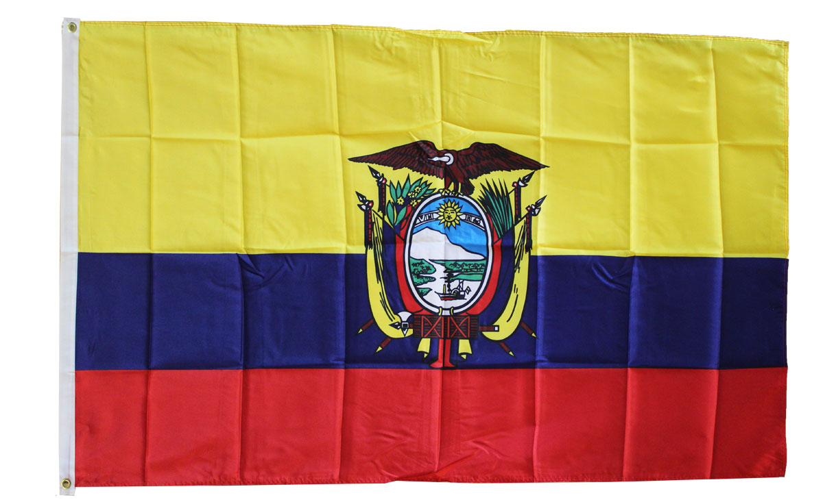 Beautiful Ecuador   3u0027X5u0027 Polyester Flag (State)