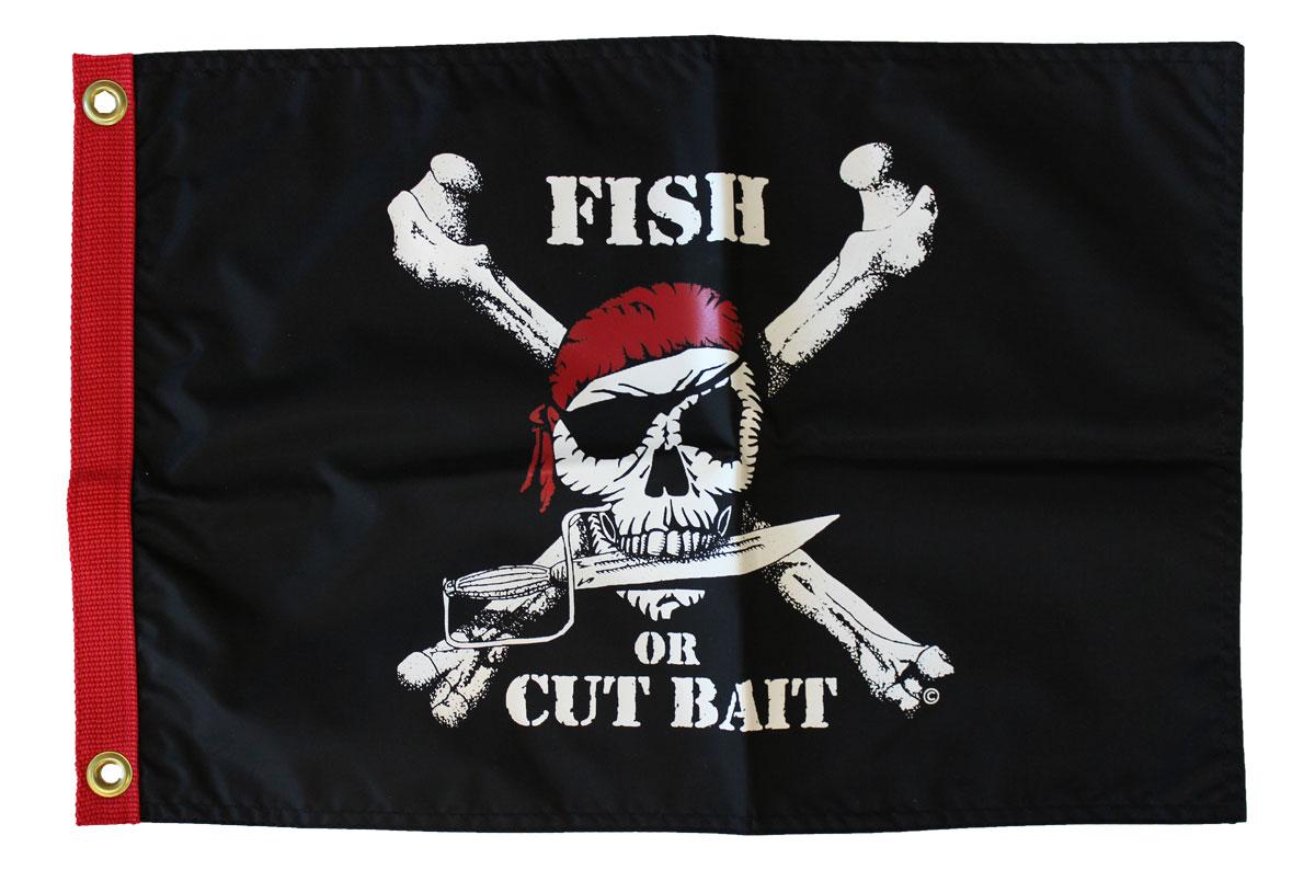Buy Fish Or Cut Bait 12 Quot X18 Quot Nylon Flag Flagline