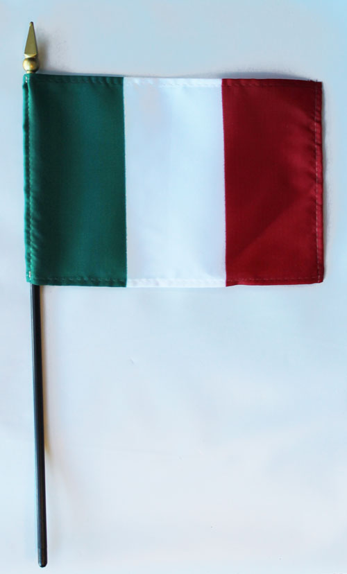 Buy Italy 4 Quot X6 Quot Stick Flag Flagline