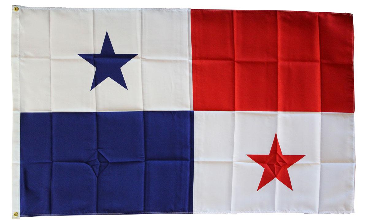 Buy Panama X Polyester Flag Flagline - Panama flags