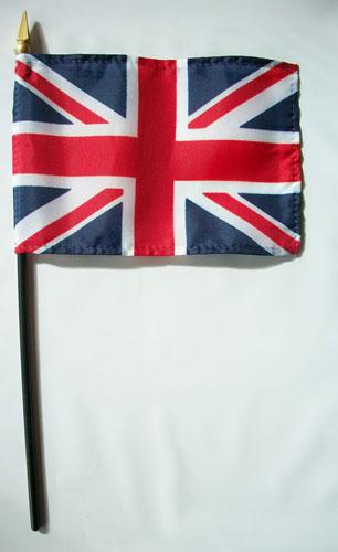 Buy United Kingdom 4 Quot X6 Quot Stick Flag Flagline