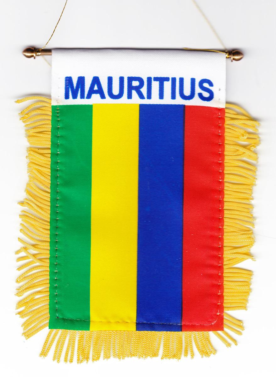 Buy Mauritius Window Hanging Flag Flagline