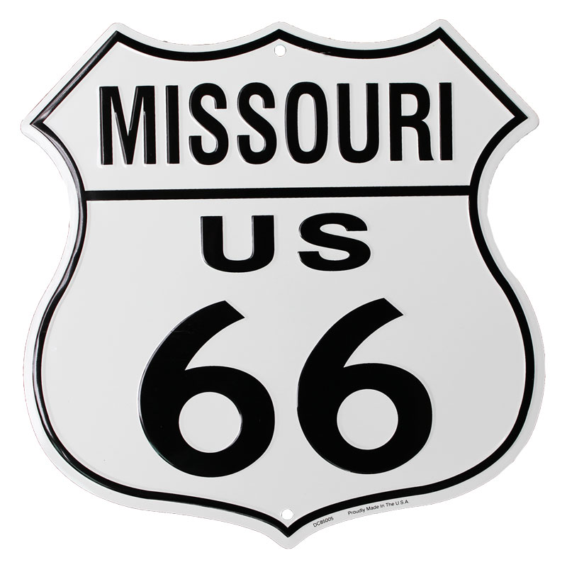 Buy Route 66 Highway Shield Missouri Flagline