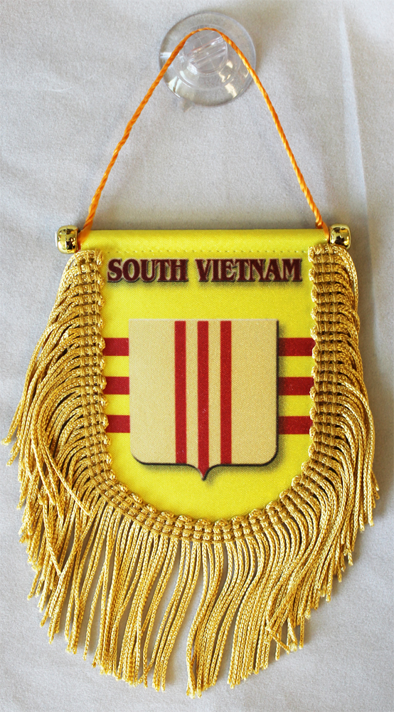 Buy South Vietnam Crest Window Hanging Flag Shield