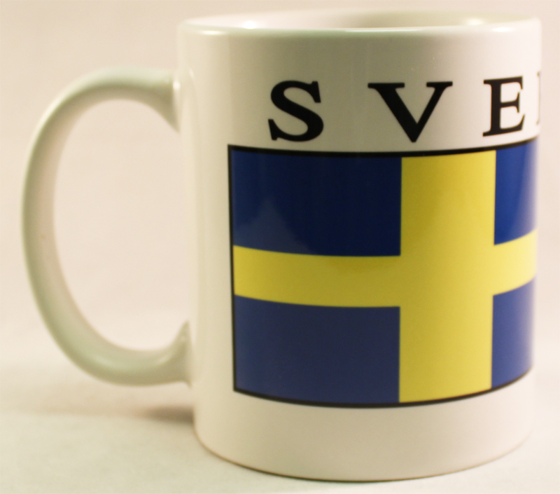 Buy Sweden Coffee Mug Sverige Flagline