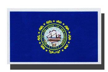 New Hampshire State Flag Flagline