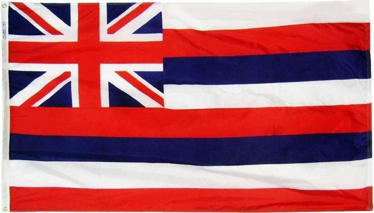 Hawaii State Flag Flagline